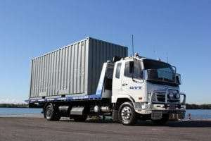 Need a tow? Container Transport