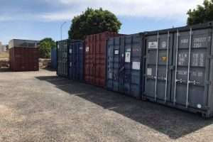 Site Container Hire off site storage